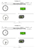 """Spanish Classroom Objects,Time, Greetings """"Exit Slips"""" (Re"""