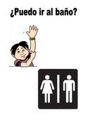 Spanish Classroom Phrases Poster Set