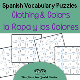 Spanish Clothing & Colors, La Ropa y Los Colores, Magic Sq