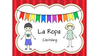 Spanish Clothing- La Ropa Power Point