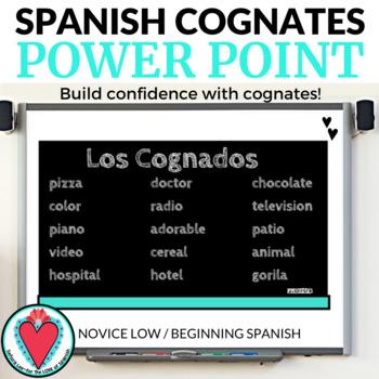 Spanish Cognates POWER POINT Presentation