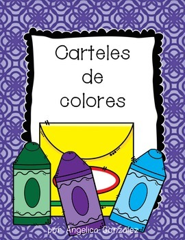 Spanish Color Posters (Scallop)