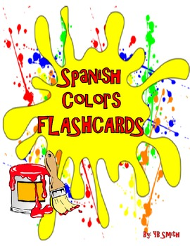 Spanish Colors Flashcards