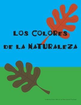 Spanish Colors Nature Walk Booklet