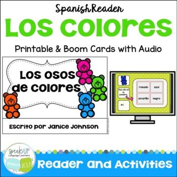 Spanish Colors Reader {Los osos de colores} ~ Simplified f