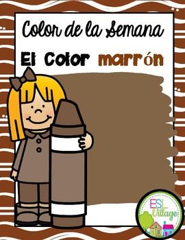 In Spanish | Brown {el color marrón o café}