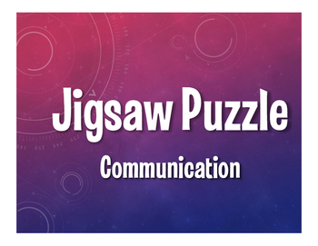 Spanish Communication Jigsaw Puzzle
