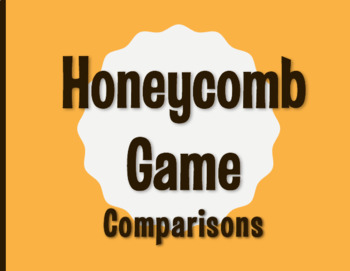 Spanish Comparisons Honeycomb Partner Game