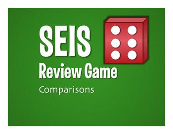 Spanish Comparisons Seis Game