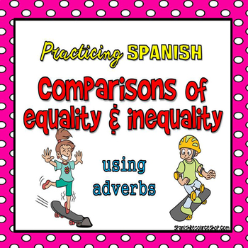 Spanish Comparisons with Adverbs Powerpoint