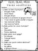 Spanish Comprehensive Test: CLIC, CLAC, MUU Las vacas escritoras