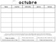 Spanish Conduct Calendars