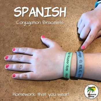 Spanish Conjugation Bracelets