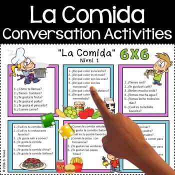 Spanish Conversation Food (La Comida)