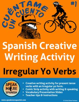 Spanish Creative Writing #2 * Actividad de Escribir * Verb
