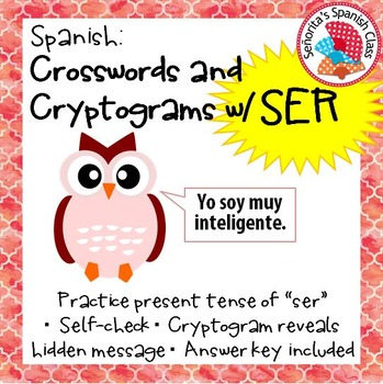 Spanish - Crossword and Cryptogram with SER
