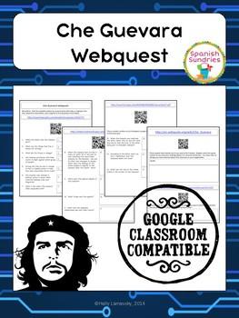 Spanish Culture:  Che Guevara Webquest