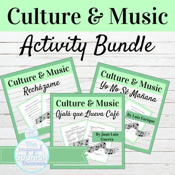 Spanish Culture + Music BUNDLE: 15 Cultural Lessons for Sp