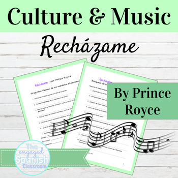 "Spanish Culture through Music: Prince Royce ""Recházame"" fo"
