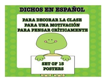Spanish Dichos