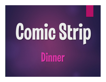 Spanish Dinner Comic Strip