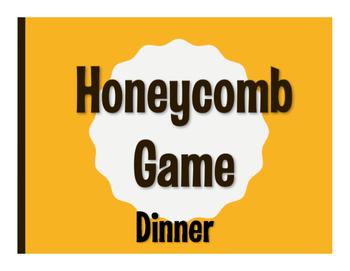 Spanish Dinner Honeycomb Game