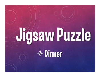 Spanish Dinner Jigsaw Puzzle