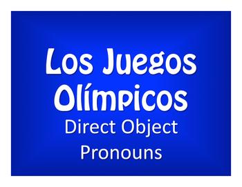 Spanish Direct Object Pronoun Olympics