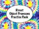 Spanish Direct Object Pronouns BUNDLE - Slideshow & Worksh