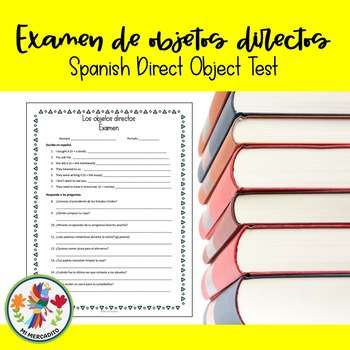Spanish Direct Object Quiz