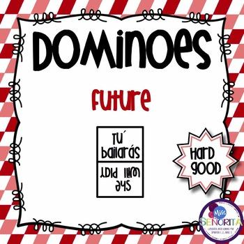 Spanish Dominoes - Future Tense {HARD GOOD}