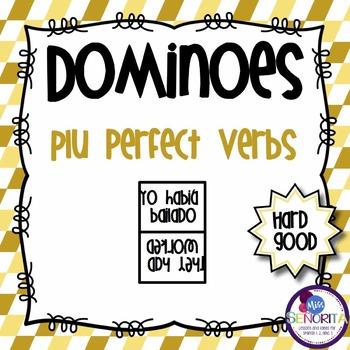 Spanish Dominoes - PluPerfect Tense {HARD GOOD}