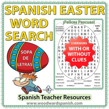 Spanish Easter Word Search