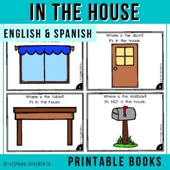 "Spanish Emergent Reader (January) - ""En La Casa"""