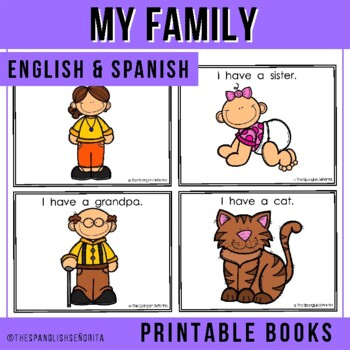 Spanish Emergent Reader (November): Mi Familia