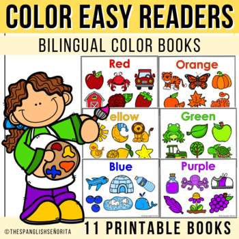 "Spanish Emergent Readers - ""Colores"" Colors"