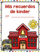 Spanish End of Year Memory Book for Pre-K, Kindergarten, 1