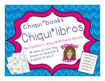 Back to School Spanish and English Chiqui*Books