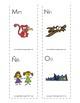 Spanish-English cognate alphabet flash cards