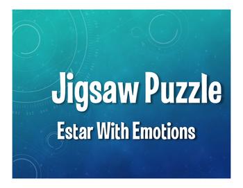 Spanish Estar With Emotions Jigsaw Puzzle