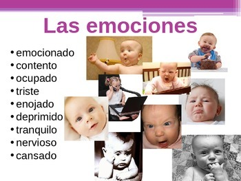 Spanish Estar and Emotions PowerPoint