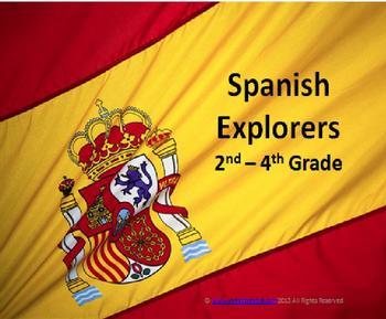 Spanish Explorers (2nd-4th)