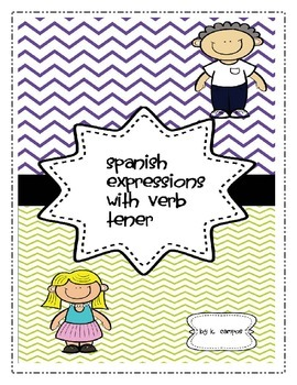 Spanish Expressions with Verb to Have- Tener
