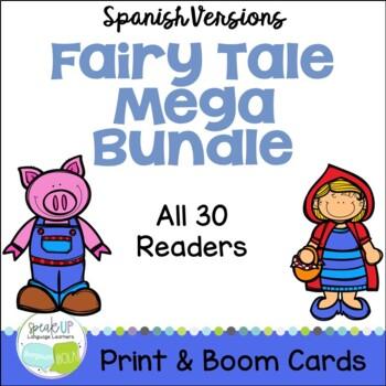 Spanish Fairy Tale 30 Reader MEGA BUNDLE & Sentence forming pages