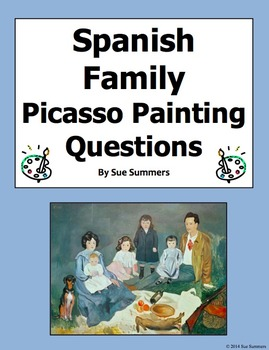 Spanish Family - Picasso's Soler Family 8 Questions and 7