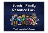 Spanish Family Resource Pack