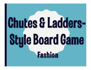 Spanish Fashion Chutes and Ladders-Style Game