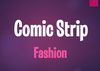Spanish Fashion Comic Strip