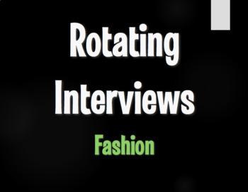 Spanish Fashion Rotating Interviews