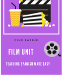 Spanish Film Unit Communication Activity